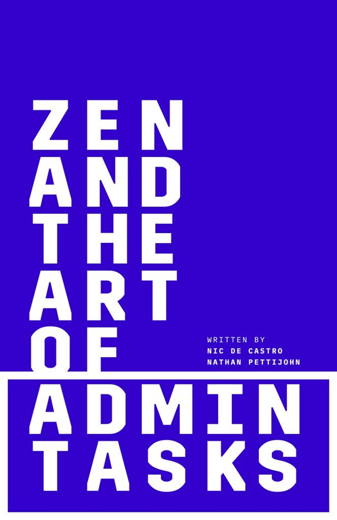 zen-and-the-art-of-admin-tasks