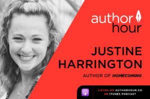 Author Hour Justine Harrington